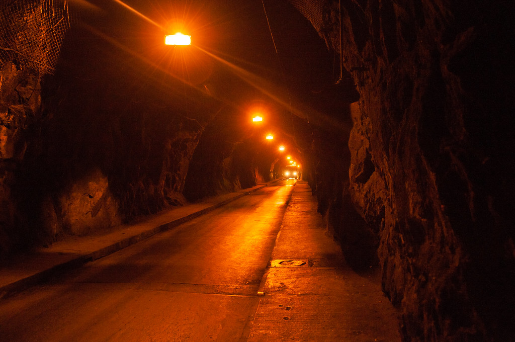 One of Guanajuato's tunnels