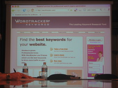 Wordtracker keywords