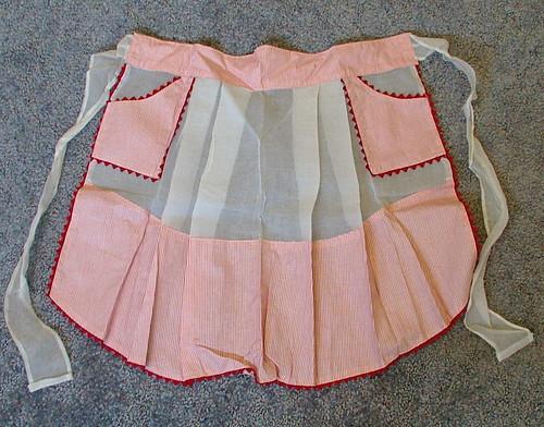 hostess half apron