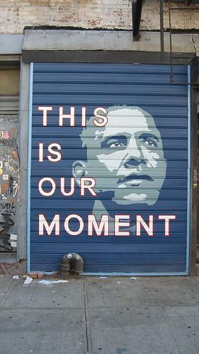 A mural in Williamsberg, Brooklyn