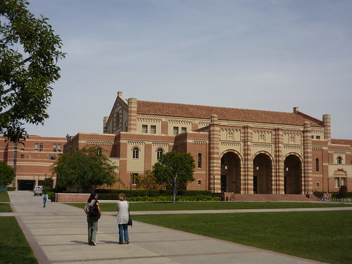 A walk on the UCLA campus