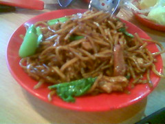 Sibu's Twin Star fried noodles