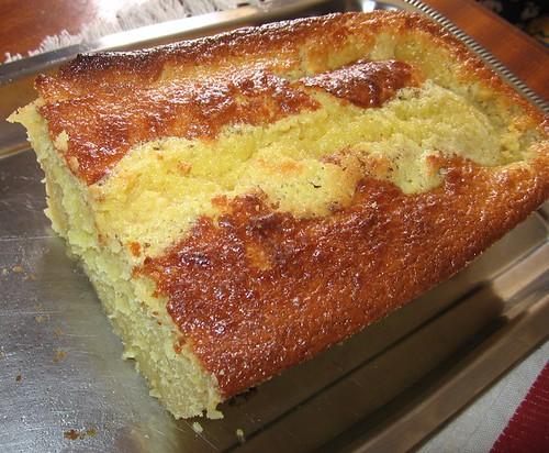 o bolo, já provado ;)