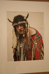 The end is near: German dressed as a native american