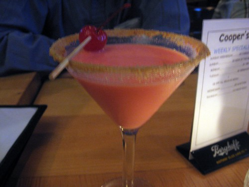 """Cherry Cheesecake"" Martini"