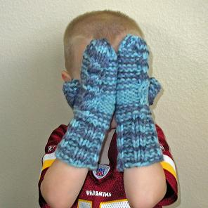 Arctic Cable Mittens (2)