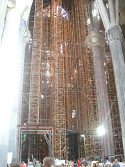 Sagrada Familia - lavori in corso
