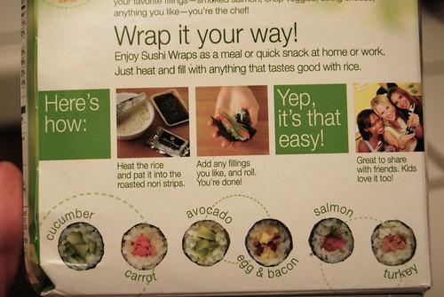 Sushi kit in a box