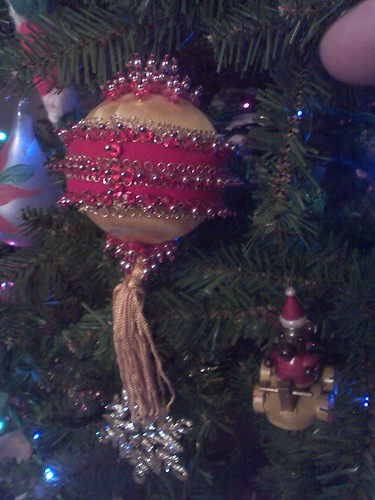 Pin and Bead ornament by Maryanne