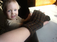 teacher's assistant fingerless mitts 2