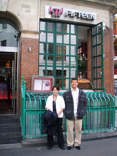 Fifteen Restaurant London, MyLastBite.com