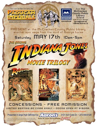Indiana Jones Movie Trilogy