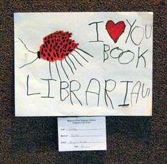 I <3  you book librarian