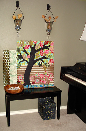 Tree on canvas