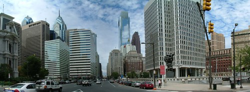 Philadelphia Center City Panorama