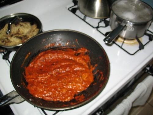 Pasta with Rosemary Cream Sauce - Step 3