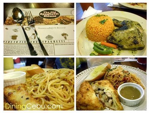 Philippines Cebu Restaurants in SM Cebu The Old Spaghetti House