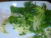 Lemon Roasted Garlic Mixed Green Salad by Delairen