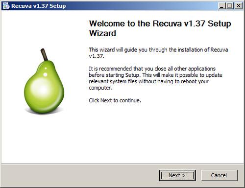 recuva tips mengembalikan file terhapus