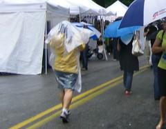 Inman Park Festival rain