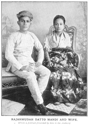 man and wife Datu Rajah traditional costume Philippine old pictures photograph black and white Philippines Buhay Pinoy Filipino Pilipino  people photos life Philippinen