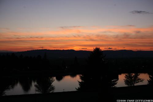 Mt. Tabor, Portland, Oregon - Sunset