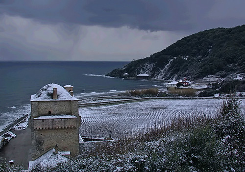 Storm on Athos