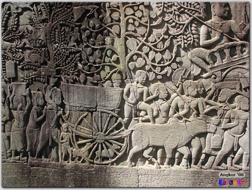 Bas Relief at Bayon