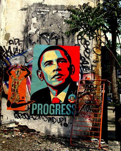 Barack Obama Poster, New York
