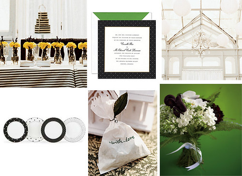 2647413656 570b877bfe Baú de ideias: Decoração de casamento preto e branco