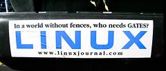 Funny Linux Bumper Sticker