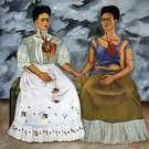 Frida Kahlo. Las dos Fridas, 1939.