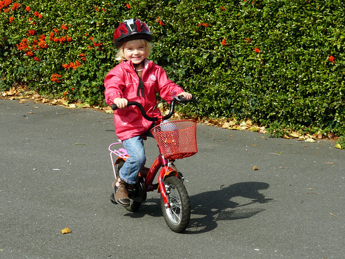 Without training wheels!!!