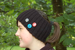 ENH as headband with pins