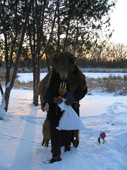 Circling, Minneapolis, Minnesota, Winter Solstice, December 21st 2008, photo © 2008 by QuoinMonkey. All rights reserved.