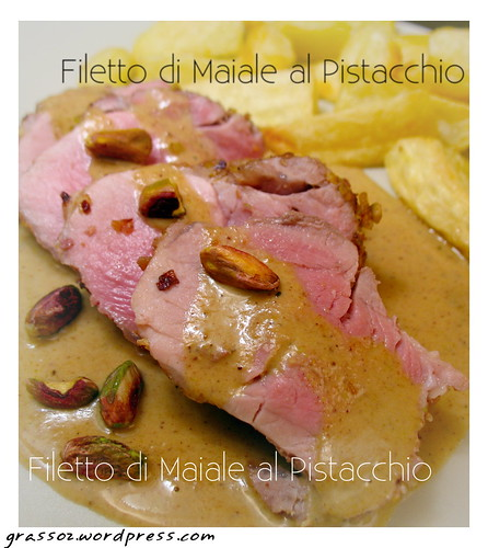 Filetto di Maiale al Pistacchio