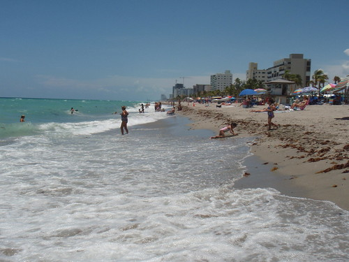 Looking south from Dania Beach