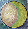 August Moon, a Moon Mandala, Minneapolis, Minnesota, August 2008, photo © 2008 by QuoinMonkey. All rights reserved.