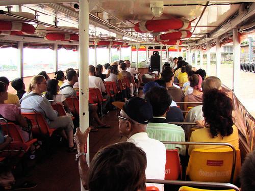 En barco a Chinatown