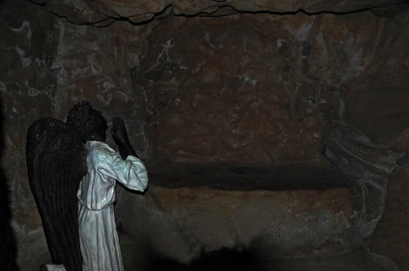 Angel-in-the Empty Tomb of Christ.