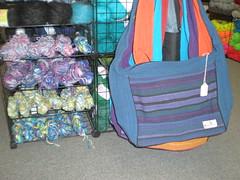 silk ribbon & bags