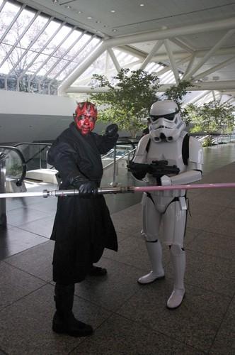 Darth Maul & Stormtrooper
