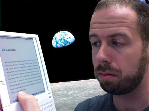 Kindle on the Moon