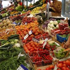 Obstmarkt Bozen
