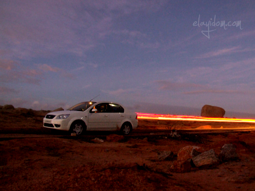My Ford Fiesta - with Fire Exhaust !