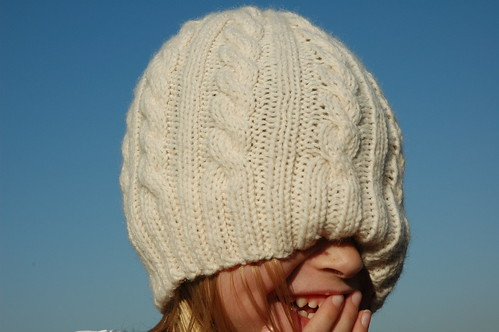 Laurie's Cabled Hat