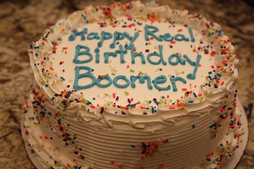 Boomer's Birthday Cake