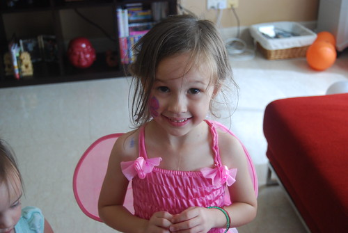 Gracie's Pretty Fairy - Halloween 2008
