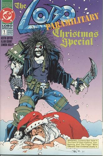 Lobo Paramilitary Christmas Special (1991) por Paxton Holley.