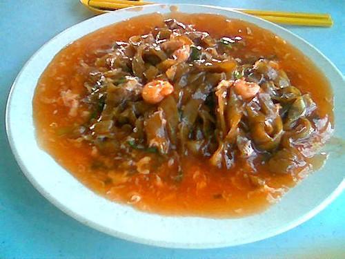 Kopi-O Cafe tomato kway teow